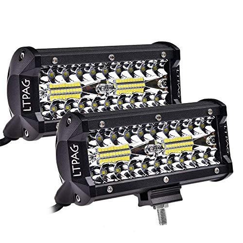 """LTPAG 7"""" 240W 24000LM Off-Road LED Fog Light Pods"""