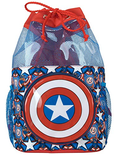 Marvel Kids Captain America Swim Bag ()