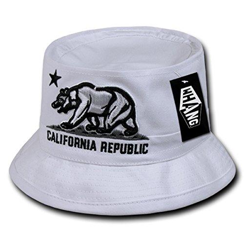 WHANG California Republic Bear Fisherman Hat