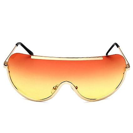 SunglassesNS Yxsd Gafas de Sol de Gran Tamaño para Damas, Diseño de ...