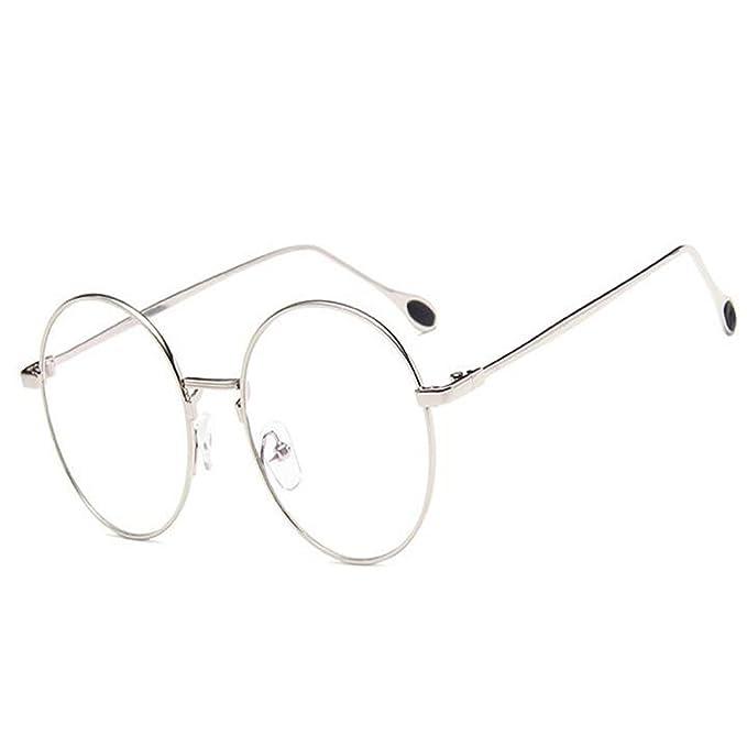 Inlefen Occhiali da vista rotondi unisex Occhiali da vista Occhiali da vista stile vintage GlOaQe8