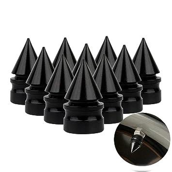 10 Tapas de Válvulas de Neumático de Coche Tapones de Válvulas de Rueda Tapa de Neumático ...