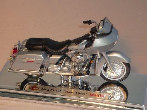 HARLEY DAVIDSON FLTR ROAD GLIDE gris 1/18 2002 Modellcarsonline
