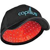 Capillus202 Mobile Laser Therapy Cap for Hair Regrowth - NEW 6 Minute Flexible-Fitting Model - FDA-Cleared for Medical Treatment of Androgenetic Alopecia - Excellent Coverage