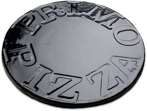 Primo 340 Porcelain Glazed Pizza Baking Stone for Primo Oval Junior Grill