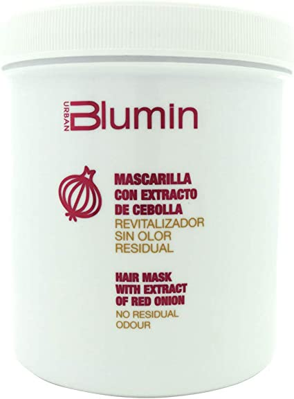 Blumin Mascarilla Cebolla Roja Revitalizadora de Pelo Mascarilla Revitalizante Cebolla Roja para Cabello 700 ml