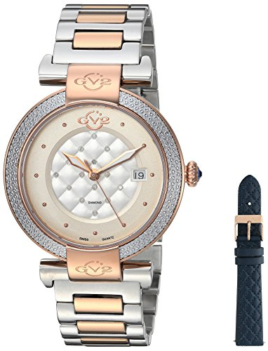 GV2-by-Gevril-Womens-Berletta-Swiss-Quartz-Stainless-Steel-Casual-Watch-ColorTwo-Tone-Model-1505