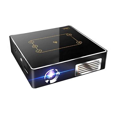 HHCC Mini Proyector Proyector Portátil con Soporte 1080P 4K ...