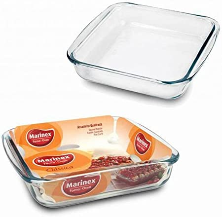 Marinex Gd16222010 1 9 Quart Square Bake Dish 6 Pack Amazon Co Uk Kitchen Home