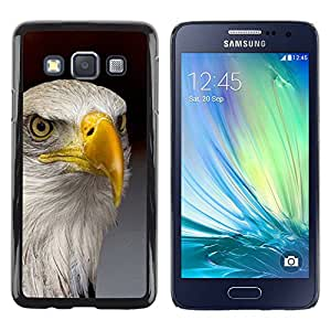Paccase / SLIM PC / Aliminium Casa Carcasa Funda Case Cover para - eagle America freedom bird national gold - Samsung Galaxy A3 SM-A300