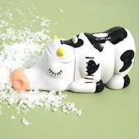 Wrapables Animal Mini Tabletop Vacuum, Cow - Cordless
