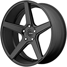 KMC Wheels KM685 District Satin Black Wheel (20x8.5/5x120mm, 35mm offset)