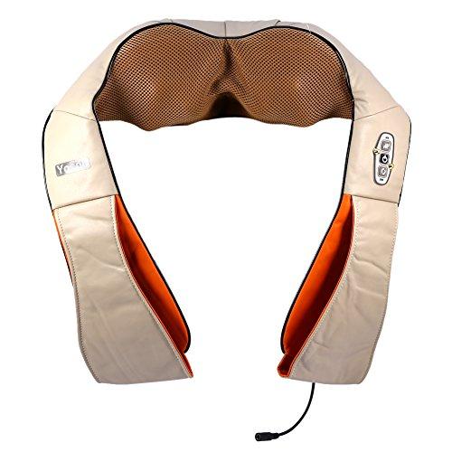 Electric Back Shoulder Massager,Multifunctional Kneading ...