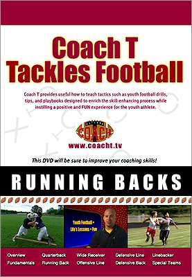Coach T - Coaching Youth Football - Running Backs - Football Drills Running Backs