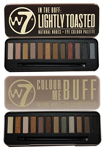 W7 Colour Me Buff & In The Buff Lightly Toasted
