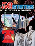 50 States Puzzles and Games, Hammond, 0841610894
