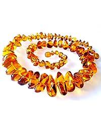 Natural Baltic Amber Necklace Collar/Women / Healing Amber Necklace/Certified Genuine Baltic Amber