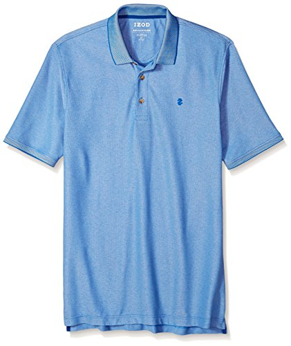 IZOD Men's Big and Tall Advantage Performance Solid Polo, Bright Cobalt, 3X-Large