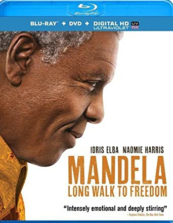 Amazon Com Mandela Long Walk To Freedom Blu Ray Dvd Uv