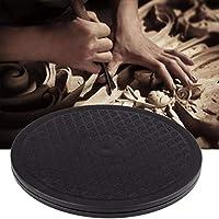 SUNSKYOO - Tocadiscos Redondo de cerámica de 30 cm con Ruedas ...