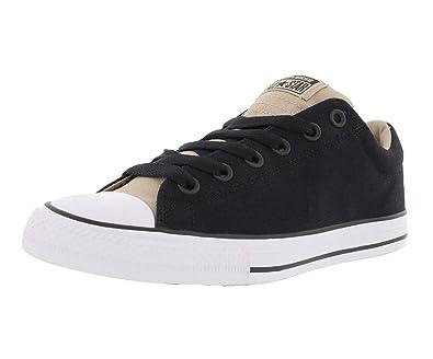 0002e14b37e260 Converse Youth Kids Street Slip On Shoes Black Vintage Khaki All Star  Sneakers (3.0