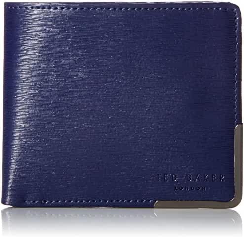 Ted Baker Men's Coppcor Corner Detail Bifold Wallet