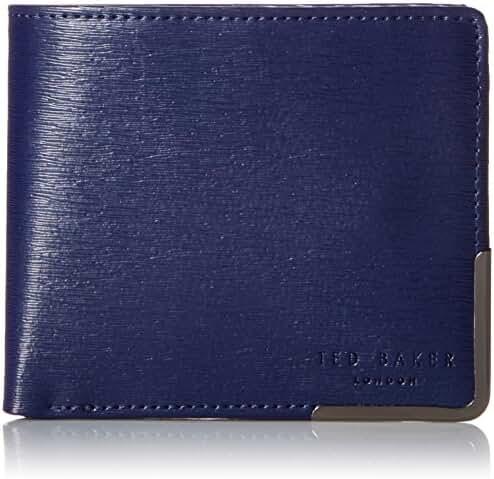 Ted Baker Men's Coppcor Corner Detail Bifold Wallet