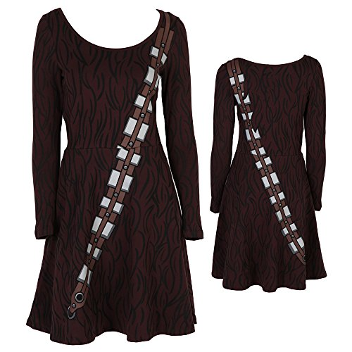 Star Wars I Am Chewbacca Long Sleeved Skater Dress