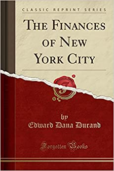 Book The Finances of New York City (Classic Reprint)