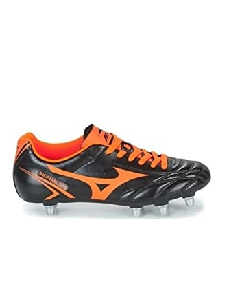 58af79aeaba9 Amazon.com  Mizuno Monarcida Rugby SI SG Boots Adults  Clothing