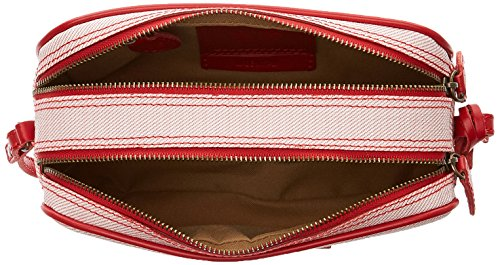 Timberland TB0M5407, Borsa a Tracolla Donna, 7x12x20.5 cm Rosso (Red)