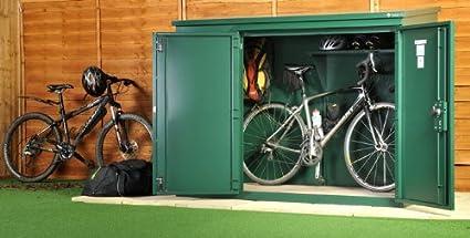 Alta seguridad bicicleta almacen - el edificio anexo para bicicletas de Asgard (embalaje plano)