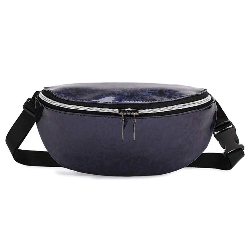 Severkill Fashion Women Students Outdoor Sports Crossbody Messenger Bag Chest Bag Zipper Waist Bag
