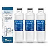 LT1000P Refrigerator Water Filter, Compatible with LG LT1000P, LT1000P, LT-1000PC, MDJ64844601, Kenmore 46-9980, 9980, ADQ74793501, ADQ74793502, by Pureza, 3 PACK