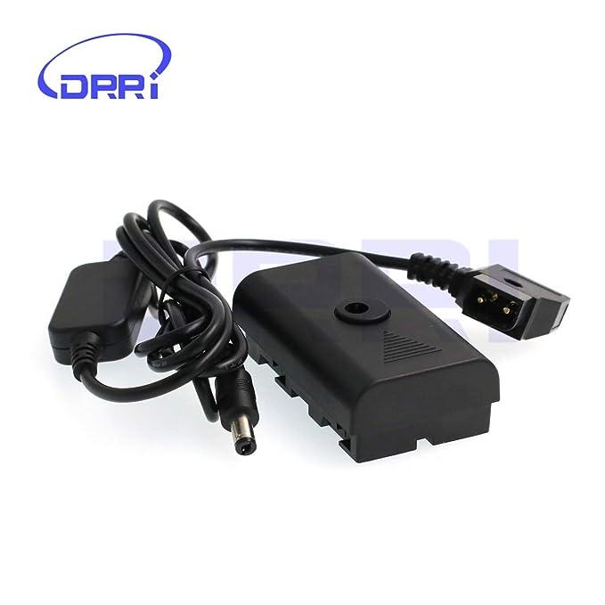 DRRI F550 NP-F970 DC acoplador Dtap Adaptador Cable para ...