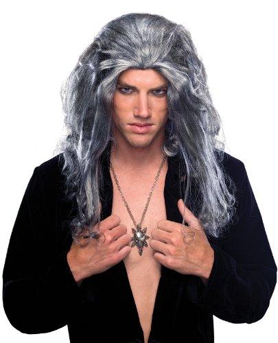 Rubie's Underlord Long Wig, Grey, One -