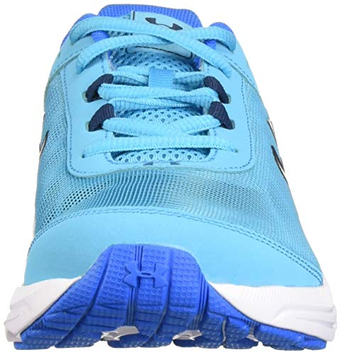 Under Armour Girls' Grade School Rave 2 Sneaker Alpine (301)/Blue Circuit 3.5 by Under Armour (Image #4)