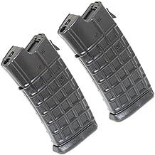 Airsoft Gear Parts Accessories 2pcs 330rd Mag Hi-Cap Magazine for AUG Series Black