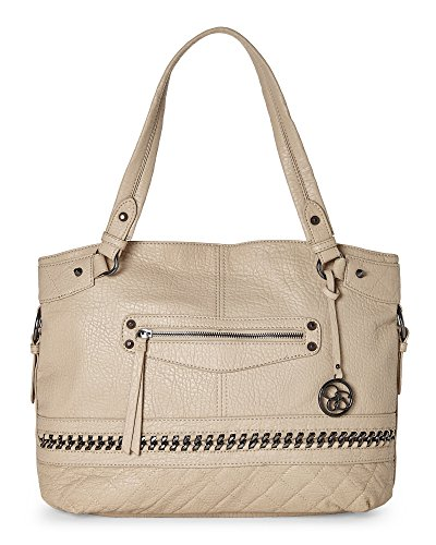 Jessica Simpson Margaret Tote Shoulder Bag, Mushroom