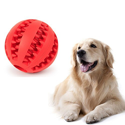 QINA-STAR Dog Toy Ball, Chewing Ball Interactive Pet Dog Toy