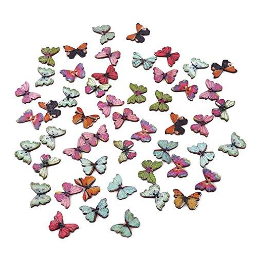 天気気まぐれな気球HKUN ボタン バタフライ アクセサリーパーツ 縫製 かわいい ボタン 手芸材料 工芸品 印刷 蝶のボタン バタフライボタン