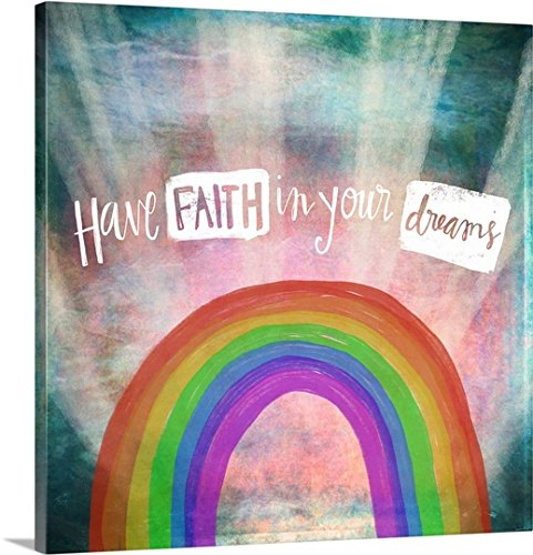 Katie Doucette Gallery-Wrapped Canvas entitled Have Faith by greatBIGcanvas