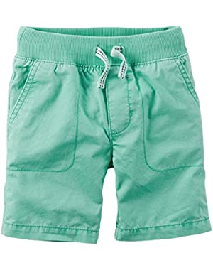 Carter's Baby Boys' Pull On Shorts- Mint- 24 Months