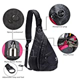 Anti Theft Sling Bag - Small Chest Shoulder