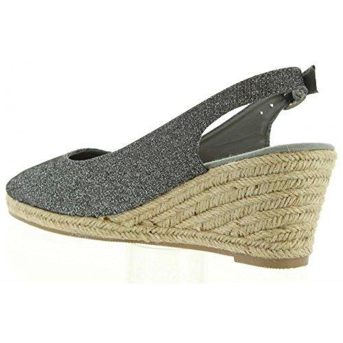 Chaussures À Talons Compensés Pour Femmes Urban B732473-b7200 Grey Taille-carte 37