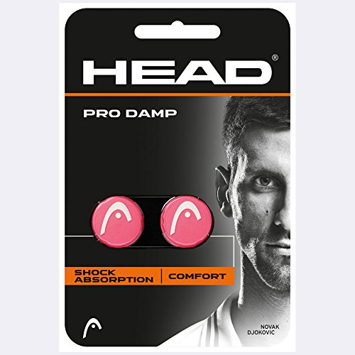 (HEAD Pro Damp, Pink 2 Pack )