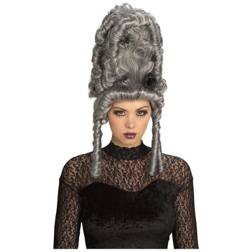 Thy Wicked Court Wig Costume Accessory (Marie Antoinette Halloween Costume)