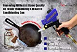 LE LEMATEC Sand Blaster Gun Kit for All Blasting