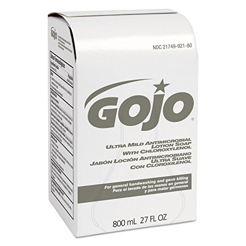 GOJO INDUSTRIES 9212 Antimicrobial Ultra Mild Lotion Hand Soap With Chloroxylenol, 800ml, Pink for cheap QKUyzdfR