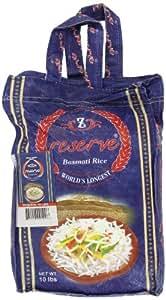 Zafarani Reserve Basmathi Rice 10-Pounds